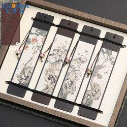 Деревянные закладки на заказ в китайском стиле, креативные закладки, подарочные деревянные бизнес подарки, ретро закладки из красного дере...