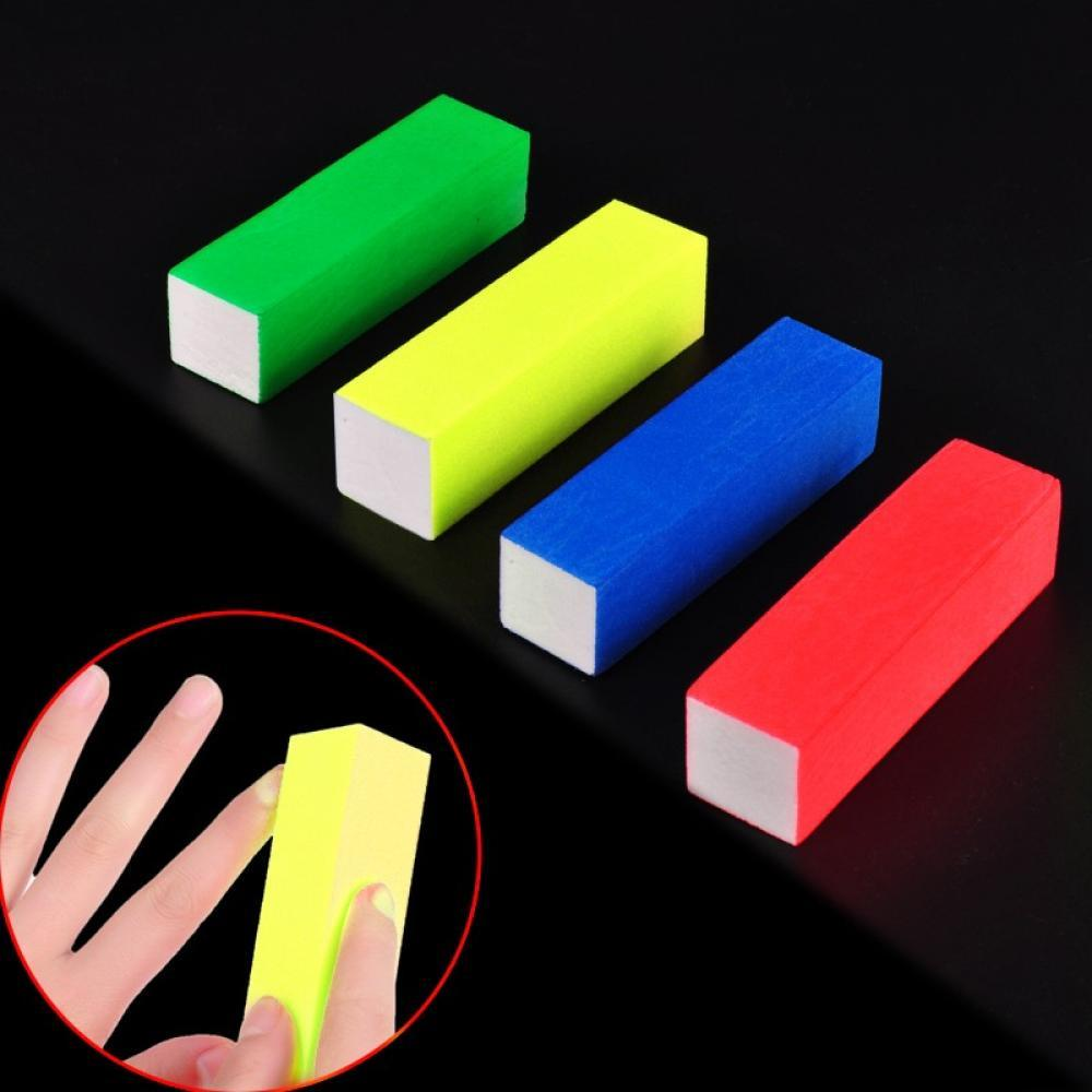High Qaulity Sanding Nail File Buffer Block For UV Gel Nail Polish Nail Art Tools Manicure Pedicure White Form Nail Buffers File недорго, оригинальная цена