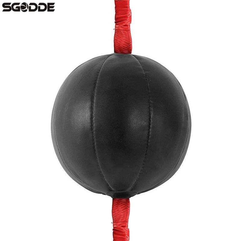 Best Deal 1pcs MMA Boxing PU Leather Speed Ball & Muay Thai Swivel Punch Bag Punching Training Speedball Fitness Equipment