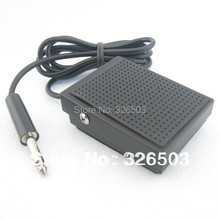 One Small Square Tattoo Foot Pedal Switch For Machine Gun Power Kit Set Supply TFS09