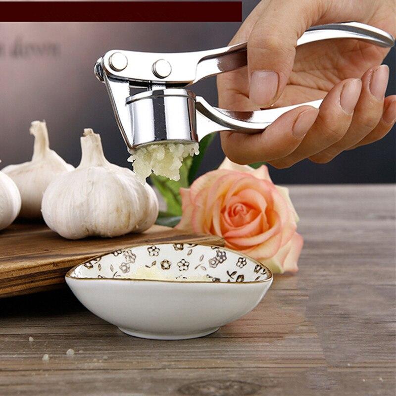 сплав цинка чеснок клип вручную чеснок прессы/портативный пищевой измельчитель джем контроля давления фруктовый салат кухня чеснок прессы