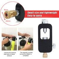 Black Mini Diving Tank Oxygen Tank for Freedom Breath Adapter Diver Mini Diving Euipment for Mini Scuba Equipment Pressure