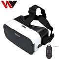 """100% Новый 3D VR Коробка 3.0 Google Картон Виртуальная Реальность Очки Гарнитура для 4.0 """"-6"""" Android-Телефон + Bluetooth Игры Джойстиком"""