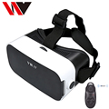 "100% New 3D VR Box 3.0 Virtual Reality Glasses Google Cardboard Headset for 4.0""-6"" Android Phone + Bluetooth Game Joystick"