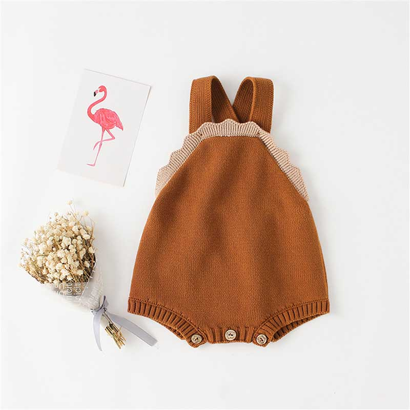 Baby Boys Girls Bodysuits With Woolen Ears Sweaters Buns Butterflies Conjoined Clothes Crawling Baby Jumpsuit Baby Rompers 2