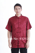 Shanghai Story new sale satin shirt chinese traditional clothing chinese clothing man tang suit chinese shirt for men(China)