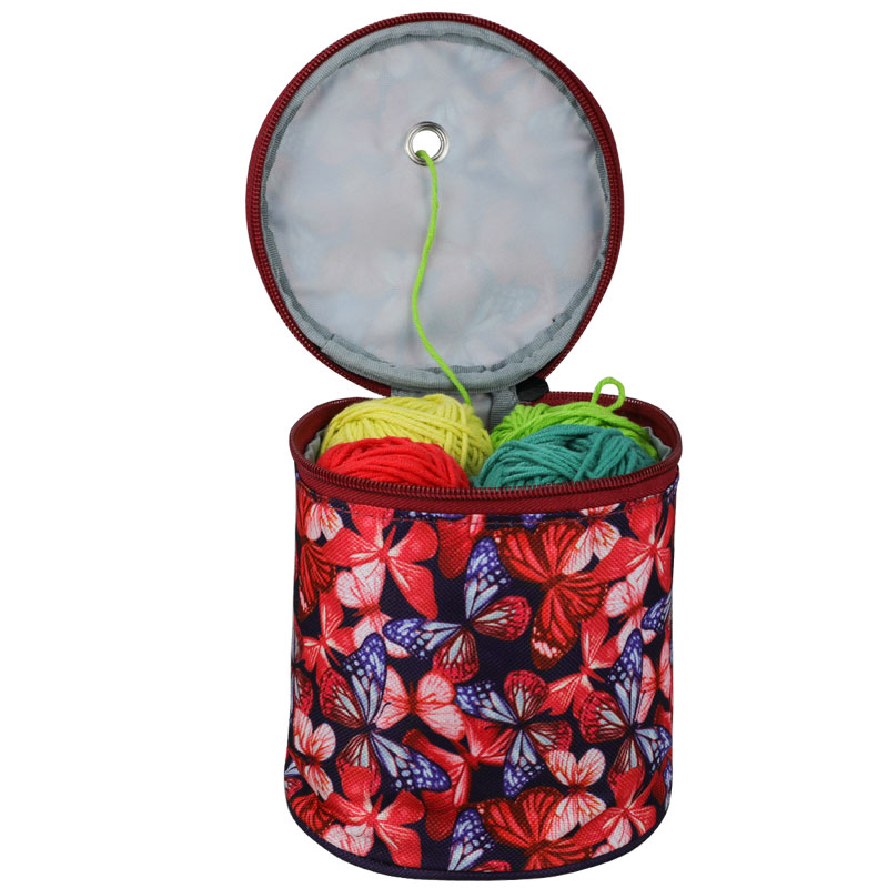 Looen Small Yarn Storage Bag Empty Yarn Bag For Knitting Yarns DIY Needle Arts Craft Househand Sewing Tools Accessories For Mom in Sewing Tools Accessory from Home Garden