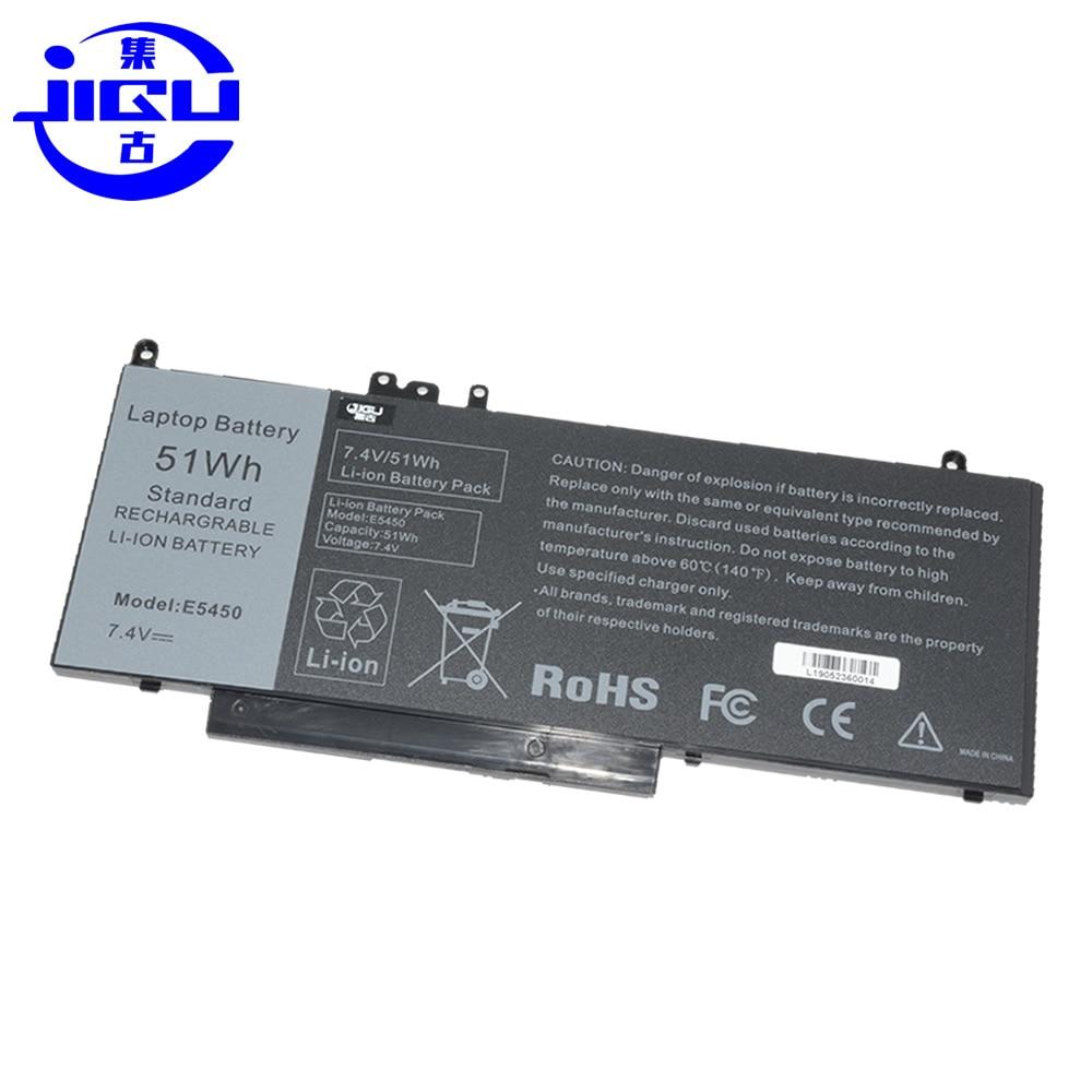 JIGU New Replacement Laptop Battery For DELL Latitude E5450 E5470 E5550 E5570 8V5GX R9XM9 WYJC2 7.4V 51wh G5M10