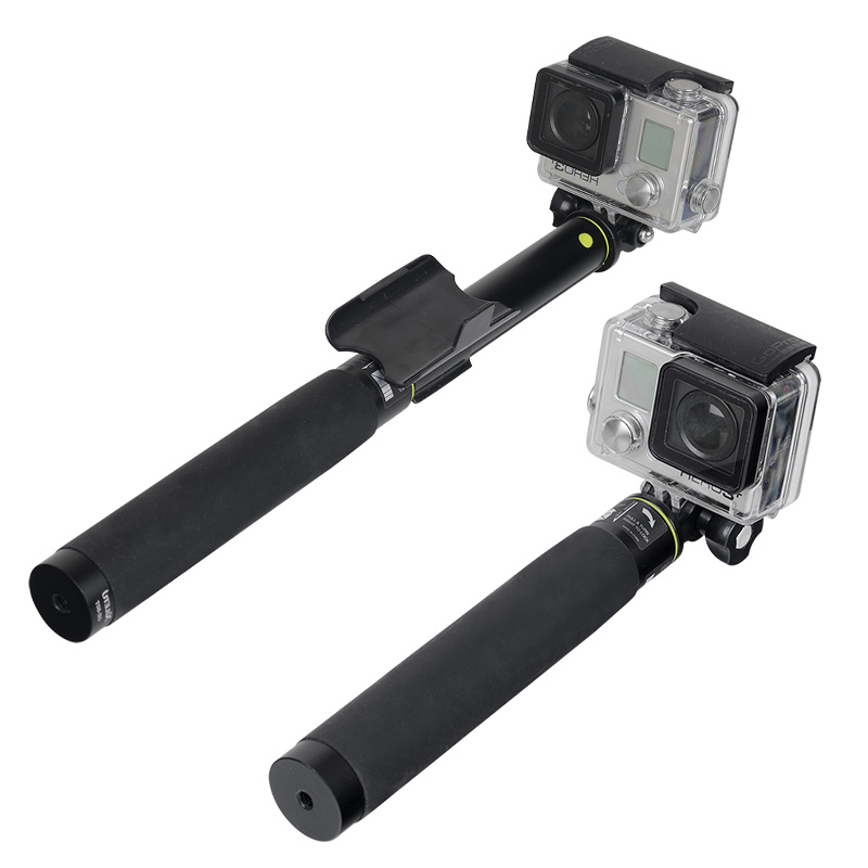 Image 5 - XILETU GE 80T Set 2018 Tripod Monopod Selfie Stick with Bluetooth Remote Control for Android and iphone-in Selfie Sticks from Consumer Electronics