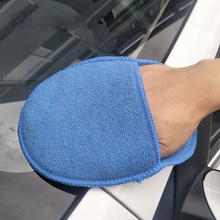 Soft Microfiber Car Washer Auto Care Car-styling Cleaning Washing Tools Accessories Automobiles Wash Gloves Wax Sponge