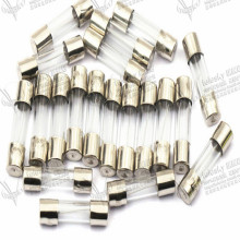 fuze 0.2 0.5 1 1.5 2 3A 4 5A 6 8 12 20 10A fusible 15 30A fusivel  diameter 5mm length 20mm 250v glass fuse wire 100pcs/lot
