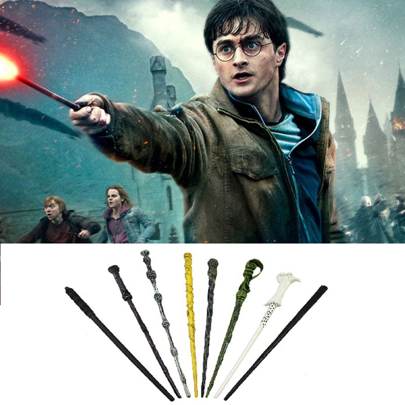 Harri Potter Magic Wand Toy Voldemort Ron Hermione Dumbledore Luna Magic Wand Hogwarts Action Train Ticket Kid Child Toys
