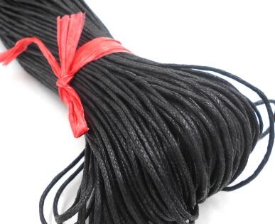 ᐅboncuk Balmumu Halat Taki Halat Siyah 2 0mm 1 8 5 M 2017new