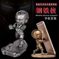 Uniwersalny Moda iron Man Wsparcia Uchwyt Telefonu komórkowego Dla iPhone 6 6 S 6 Plus 7 7 plus Stand for samsung Huawei Xiaomi LG