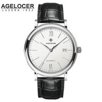 Agelocer marca AAA Orologi Meccanici Con Data Jaragar Fotocromatiche Zaffiri Orologio Relogio Masculino 40mm dial orologi per gli uomini
