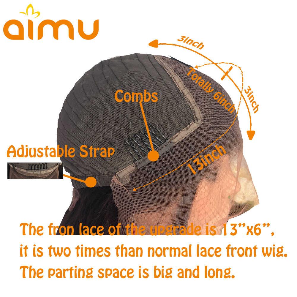 Perwersyjne kręcone włosy 13*6 koronki przodu peruki brazylijski Glueless bezpłatne części 250 gęstość Afro perwersyjne kręcone włosy koronki przodu peruki z włosów ludzkich