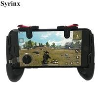 Mando para móvil con Joystick/gatillo L1R1, botones de disparo para iPhone 8, Android, IOS, soporte para mando de Pubg