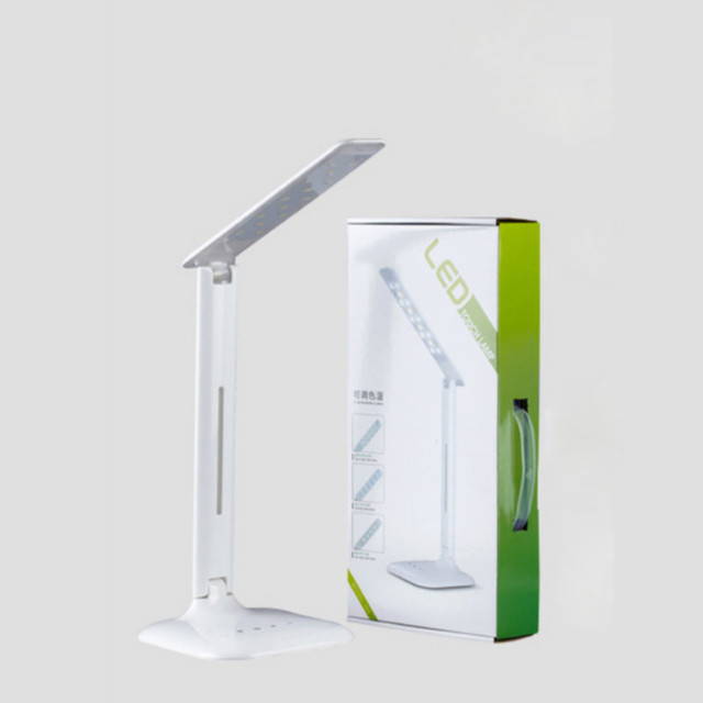 Vosilite Portable Adjustable Desk Lamps Rechargeable 14 LED Lamp Beads  Table Lamp Foldable Changeable With Touch