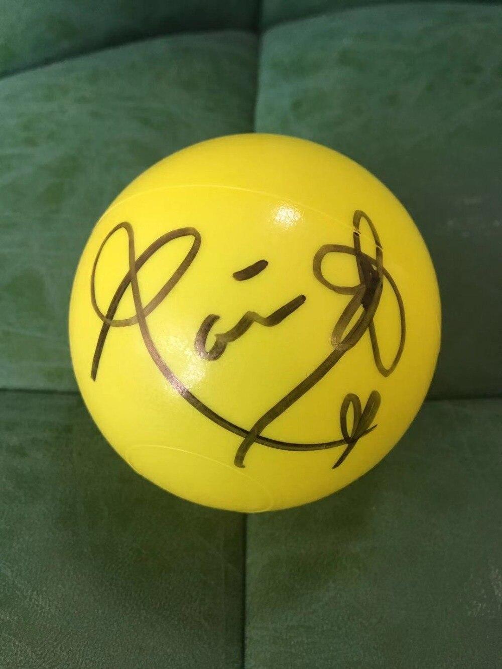Signé BLACKPINK ROSE autographiée concert ball limited verison K-POP 122018