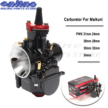 Brand new 21 24 26 28 30 32 34 mm Motorcycle Engine Part Carburetor Mikuni PWK With Power Jet Dirt Bike ATV