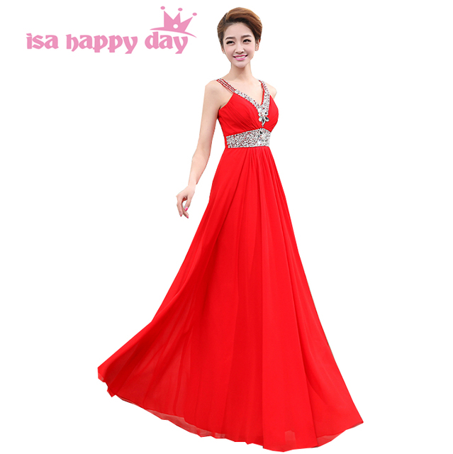 special occasion long beaded gown formal elegant chiffon coral ...