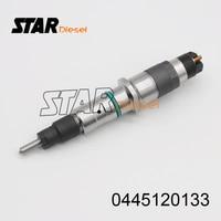 0 445 120 133 Montagem Injetor de combustível Injector de Combustível Do Motor Diesel 0445120133 0445 120 133