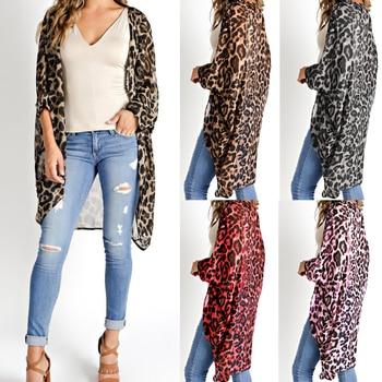 Leopard Kimono Cardigan 1