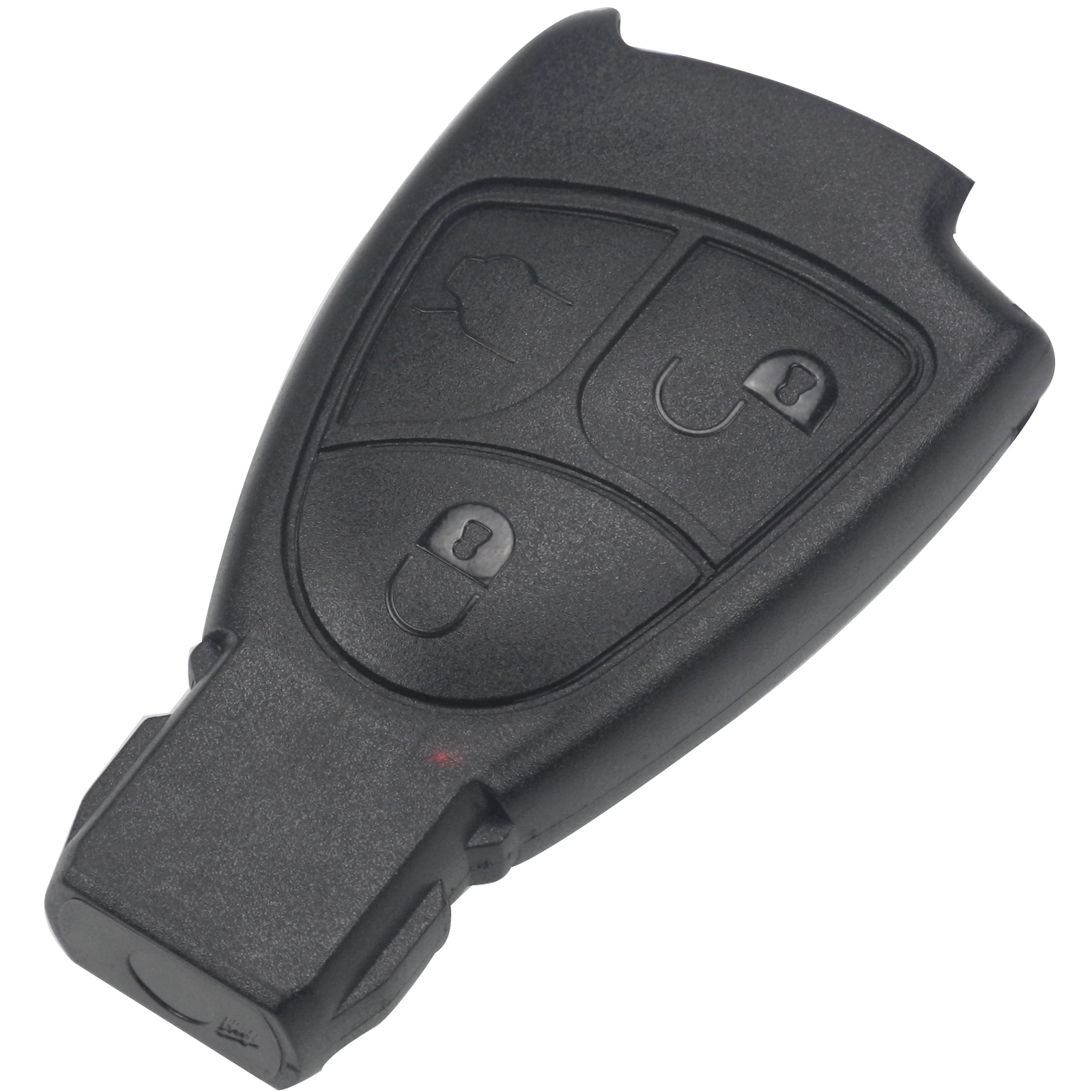 Jingyuqin 100pcs 3 BTN Remote Car Key Case Shell Fob for Mercedes Benz B C E ML S CLK CL 3B 3BT Smart Car-styling