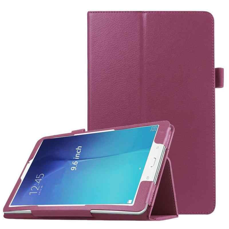 "Case Cover For Samsung Galaxy Tab E 9.6""T560 Smart PU Leather Folio Stand Folding Stand Stylus Holder SM-T561 SM-T567 T560 funda"