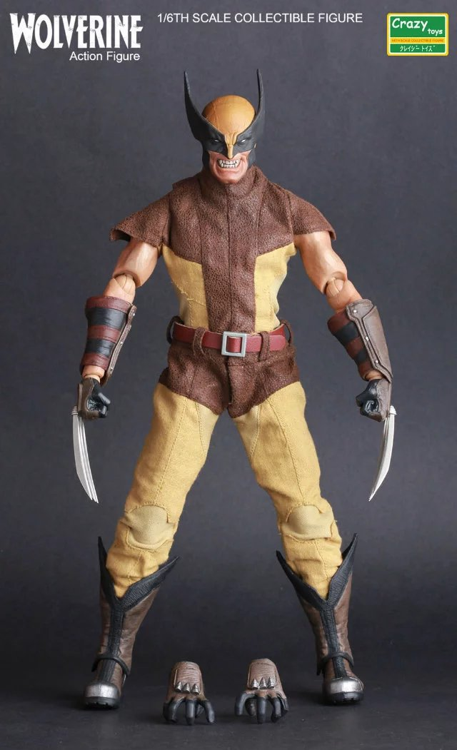 Crazy Toys Logan X-men 1/6TH Scale Collectible Action Figure Model Toy 12 30cm KT3200 1 6 scale model metal gear solid v the phantom d dog diamond dog about 23cm collectible figure model toy gift