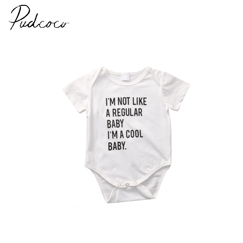 pudcoco short sleeve o-neck pullover fashion new Newborn Baby Infant Girl Summer Romper Jumpsuit Outfits Sunsuit Clothes 3-18M baby clothing summer infant newborn baby romper short sleeve girl boys jumpsuit new born baby clothes