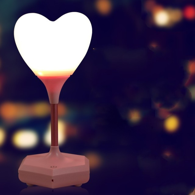 Love Balloon Nightlight Heart Shaped Bedroom Lighting Lamp Touch Sensor  Night Light Romantic Atmosphere Badkamerverlichting