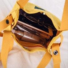 XINGMING 2018 Designer handbags high quality Women Bag Vintage Corduroy  Shoulder Bags New Corduroy Bucket Shoulder Handbags