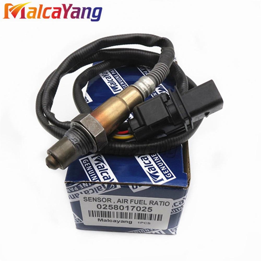 New 0258017025 Lambda O2 Exhaust Gas Oxygen Sensor For VW Skoda Audi LSU 4.9 Wire Band OE#0 258 017 025New 0258017025 Lambda O2 Exhaust Gas Oxygen Sensor For VW Skoda Audi LSU 4.9 Wire Band OE#0 258 017 025