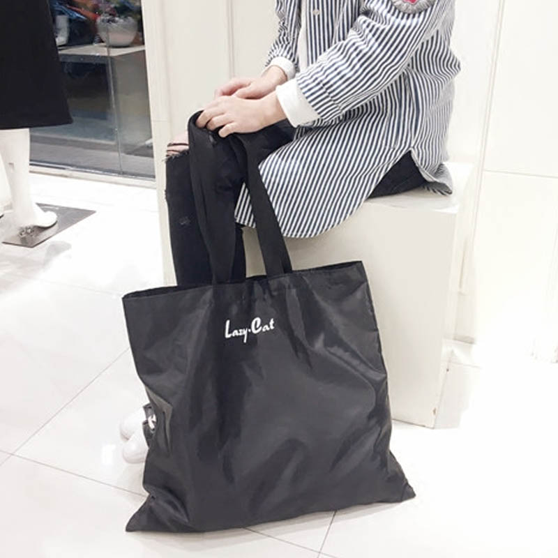 Large Bag Folding Supermarket Travel Collection House Shopping Carrier Bag Super Tough Nylon Environmental Protection bag ...