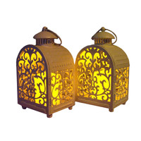 Wedding Decor Moroccan Candle Holder Household Decoration Iron Lanterns Candlestick