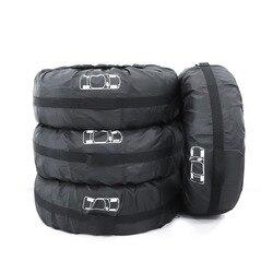 4 шт. запасное колесо чехол полиэстер зимой и летом автомобильных шин сумка для хранения автомобильные шины аксессуары колеса протектор