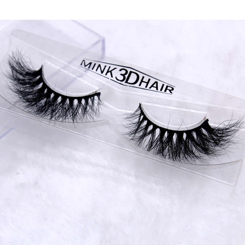 cd12a3d43df ... L023 3D mink hair Thick Long False Eyelashes Thick Natural Fake Eye  Lashes Professional Makeup Crossing ...