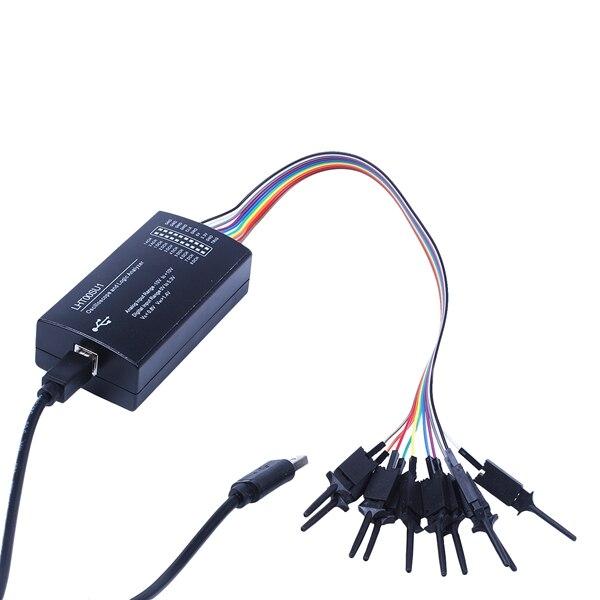 LIXF I2C SPI peut Uart LHT00SU1 analyseur de logique d'oscilloscope virtuel