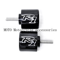 Motorcycle Hand Bar Ends For Yamaha YZF R1 YZF R1 1998 2012 YZF R6 YZFR6 R6