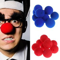 10 шт. Губка Мяч Клоун Нос для Костюм для Рождества и Хэллоуина вечерние игрушка