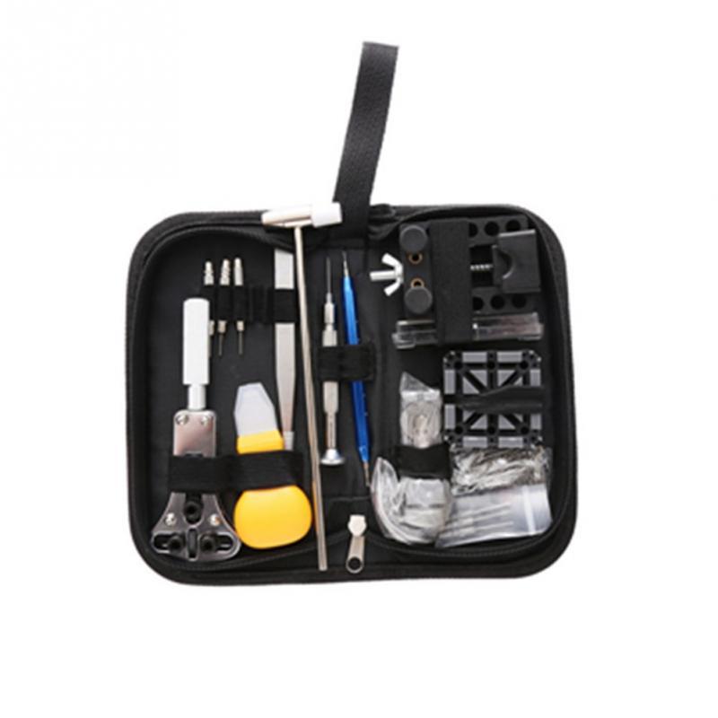 144 Stücke Tragbare Uhr Reparatur Werkzeug Set Opener Pins Link Remover Frühling Bar Kit