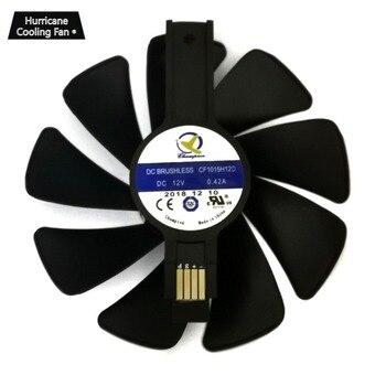 95mm CF1015H12D Carte Graphique Bleu Led Ventilateur Refroidisseur Pour Sapphire NITRO RX480 RX470 RX580 RX570 RX590 RX 470 480 570 580 590 4G 8G