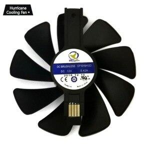 Image 4 - 95mm CF1015H12D Graphics Card Blue Led Cooler Fan for Sapphire NITRO RX480 RX470 RX580 RX570 RX590 RX 470 480 570 580 590 4G 8G