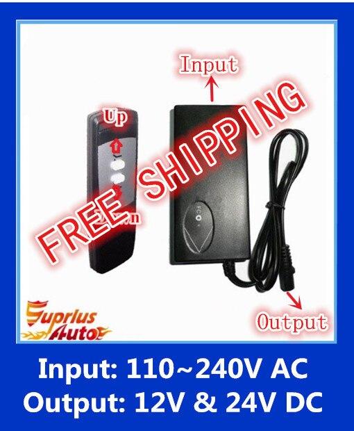FREE SHIPPING  110-240V AC input 24V or 12V DC output  FREE SHIPPING  110-240V AC input 24V or 12V DC output