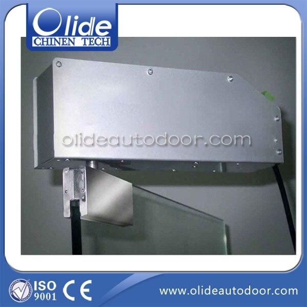 Automatic glass swing door closer, glass door swing door actuator power concealed single swing door closer frameless glass swing door opener automatic swing door
