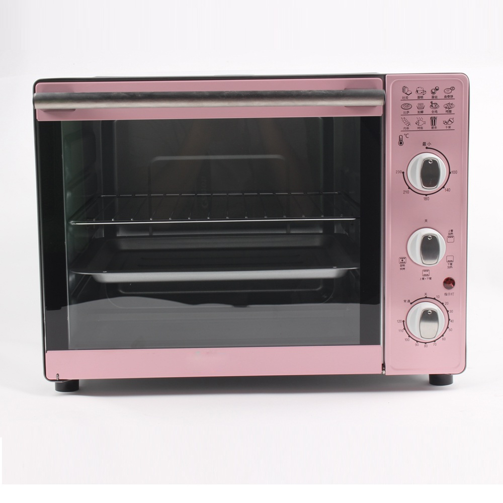 DMWD 33L 4 Layer Multifunctional Electric Oven Home Electric Grill Pizza Dessert Bread Maker Meat Roast Rotisseries 220V Гриль