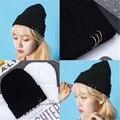 2016 de MODA de la marca de moda nuevos deportes de invierno de hip-hop tapa sombrero masculino sombrero hecho punto los hombres y mujeres casual Skullies Gorros