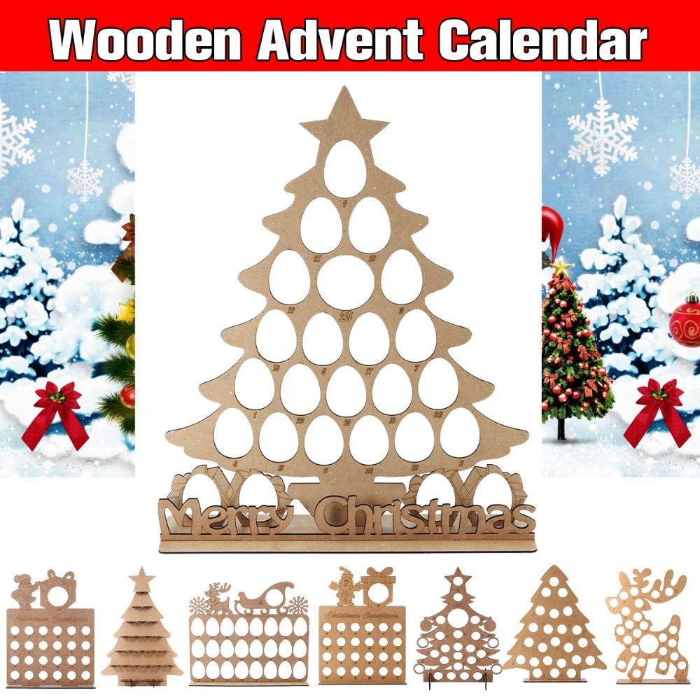 Xmas Christmas Advent Countdown Calendar BEER BOTTLE Tree Free Standing.