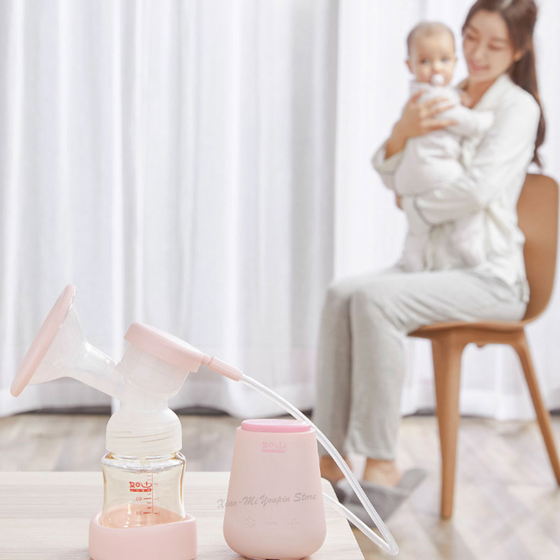 Xiaomi youpin variable frequency electric breast pump intelligent breast mitigation device with baby bottle nipple sucking